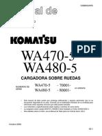 Komatsu WA470-5 Cargador Frontal
