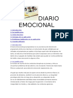 Diario Emocional