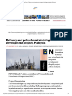 Engineering News - Refinery and Petrochemicals Integrated Development Project, Malaysia