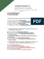 Grammaire Francaise T4