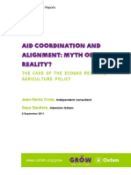 Aid Coordination and Alignment