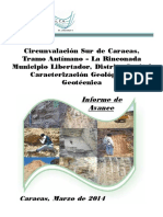 Informe Circunvalación Sur