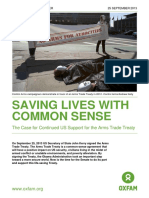 Saving Lives with Common Sense
