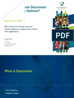 Replacing Oracle Discoverer Ppt 041316