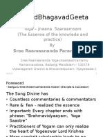 SreeMadBhagavadGeeta by Sadguru Sree Ramaananda Paramahamsa-Draft