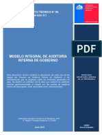 Documento Tecnico n 90 Modelo Integral de Auditoria Interna de Gobierno, Chile