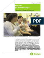 Getting Women into Local Strategic Partnerships