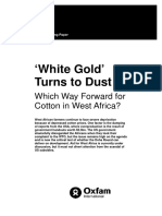 White Gold Turns to Dust