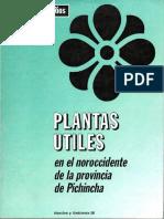 Plantas Utiles en El Noroccidente de Pichincha1