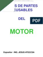 Curso Partes Reusables Motor Senales Fallas Causas Diagnostico Inspeccion Camisas Cilindros Pistones Anillos Culata Partes