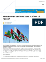 What is OPEC and How Does It Affect Oil Prices?