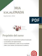 Auditoria Escalonada General