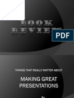 Book Review on Presentation