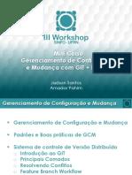 minicursogerenciamentodeconfiguracaoemudanca-iiiworkshopsinfoufrn