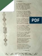 Ventura Villarrubia Pila (Poema dedicado a su  mujer)