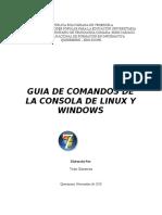 Guia de Comandos de Linux y Windows Vicky
