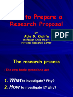 Able How to Prepare a Proposal