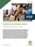 Upper Nile Refugee Crisis