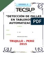 taller 5 DETECCIÓN DE FALLAS EN TABLEROS DE AUTOMATIZACIÓN