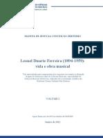 Leonel Duarte Ferreira - Vida e Obra Musical