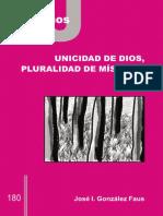 Unicidad-De Dios Pluralidad-De Misticas Gonzalez-Faus 23