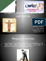 Presentacion Orden, Limpieza y Servicios Sanitarios