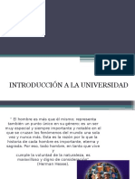 Introduccion a La Universidad