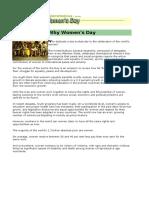International Women's Day.doc