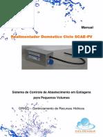 Manual Realimentador Domestico Ciclo SCAE PV