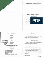 Tehnologija Drveta. Prof.dr. Safet Gurda 1