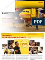 Dhl Express Service Rate Guide Pk en 2016