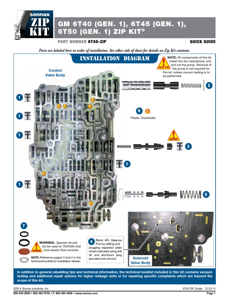 6T40 Manual | Valve | Switch