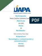 Tecnología de La Información Tema II