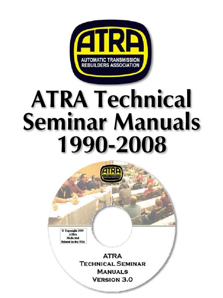 Atra seminar 1990 2011pdf clutch transmission mechanics fandeluxe Gallery