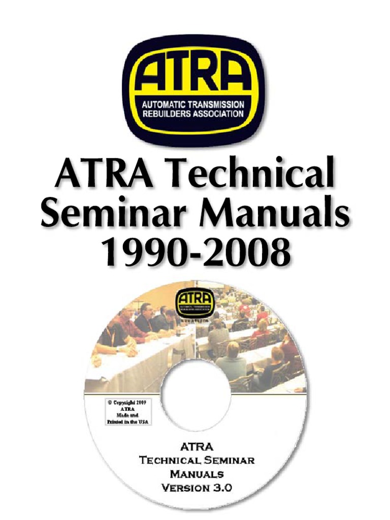 Atra Seminar 1990-2011 pdf | Clutch | Transmission (Mechanics)