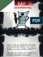 Técnica de Investigación Documental
