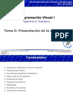 0-Presentación de La Asignatura