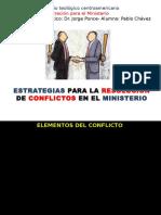 Admón Ministerio SETECA-Seminario Resolución Conflictos