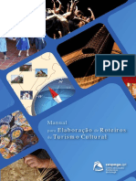 Manual Para Elaboração de Roteiros de Turismo Cultural
