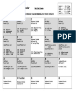 2017 testing calendar