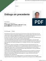 15-03-17 Diálogo Sin Precedente - Benito Juárez Ciudad de México