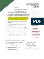 BMB7010 Exam Answers Dec07