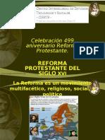 Reforma Protestante y Radical