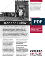 Debt and Public Services