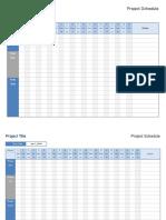 Planeador de Proyectos