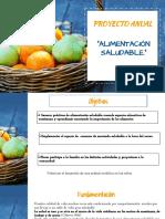 Proyecto de Ciclo- Alimentación Sana Primer Nivel.pptx