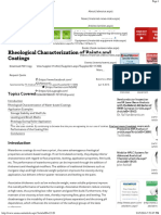 Rheological Characterization of Paints and Coatings -2