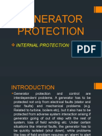Generator Internal Protection