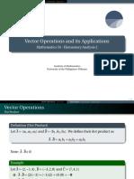 14 Vectors Operations - Handout