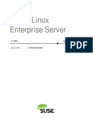 SuSE Linux Enterprise Server Security Guide 11 SP4 | Password
